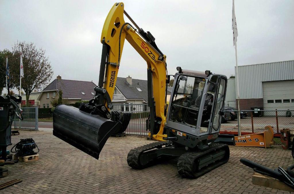 Nieuwe Wacker Neuson 50Z3 met VDS voor Haerst uit Zwolle