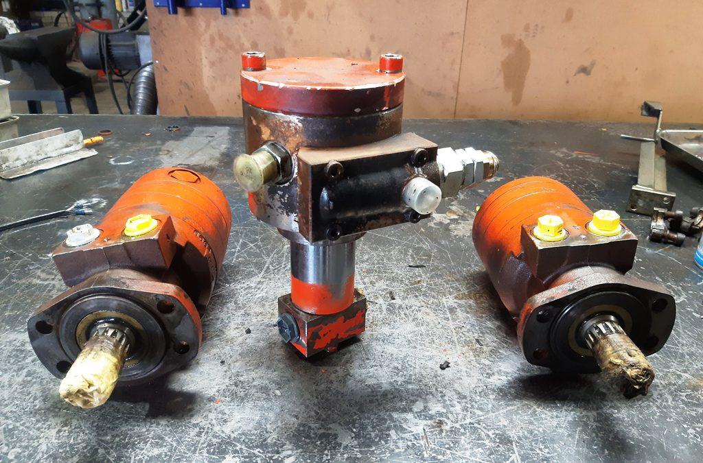Parker hydrauliek motoren
